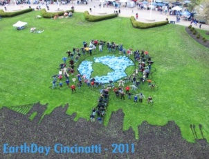 The annual Cincinnati Earth Day celebration - 2011.